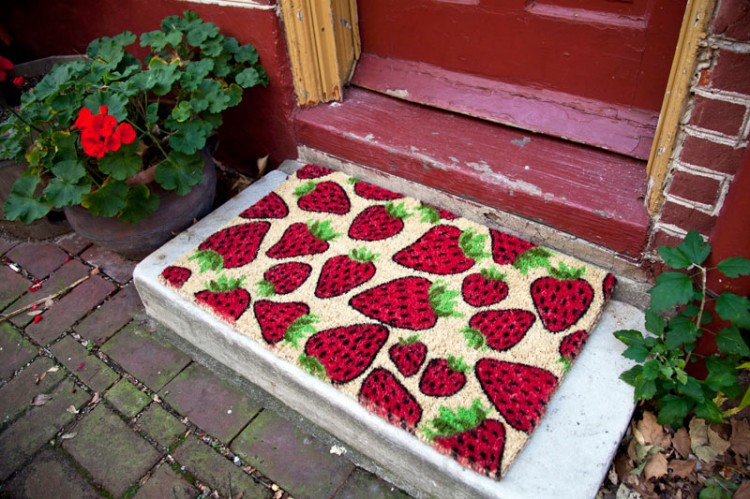 Doormat - Strawberries