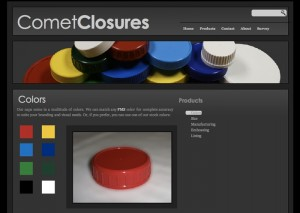 Website for Comet Closures