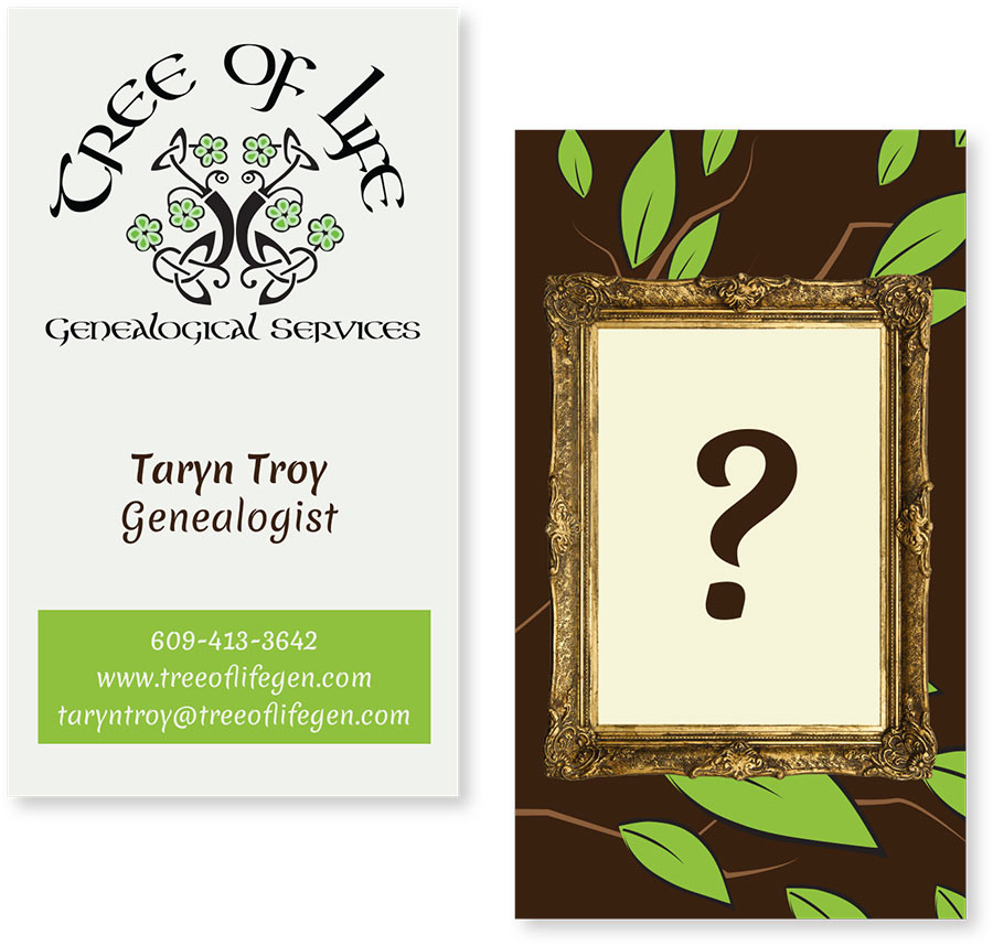Identity: Tree of Life Genealogical Services | Carol Johnston
